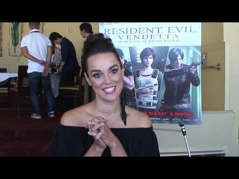 SDCC 2017 : Itw Erin Cahill for Resident Evil: Vendetta