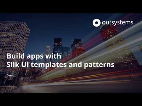 Build Apps With Standard Templates And Patterns