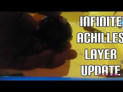 Lego infinite Achilles update beyblade burst sparking