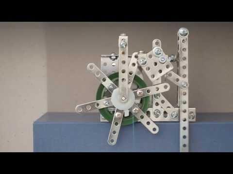 Erector Set Clock Escapement - Galileo