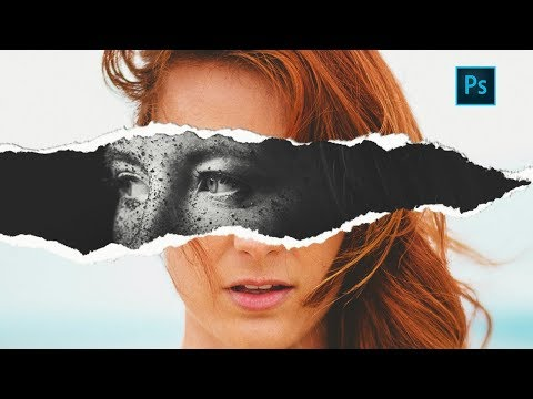 torn-paper-effect-|-photoshop-tutorial