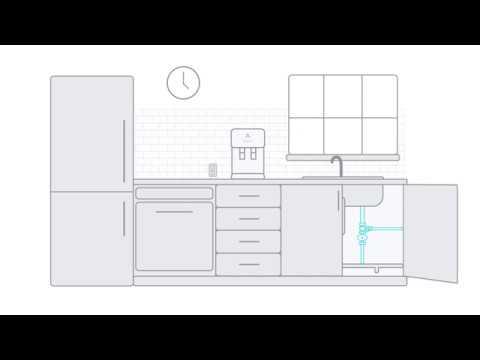 Installing an Avalon Countertop Bottleless Water Cooler Under Your Sink