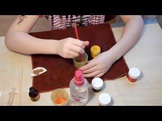 Как сделать йод для куклы