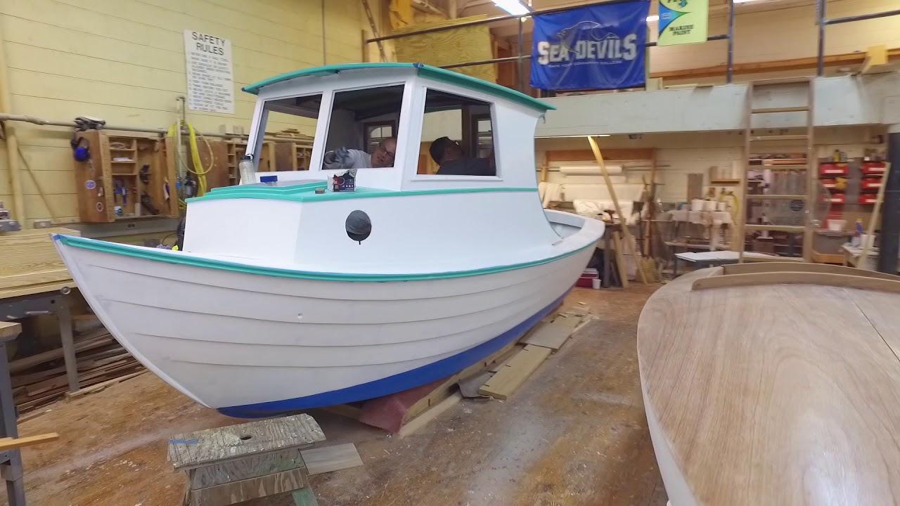 CFCC Wooden Boat Building