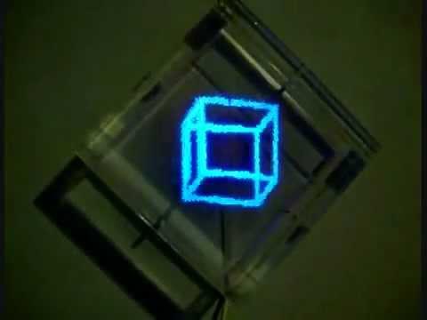 Светодиодные часы своими