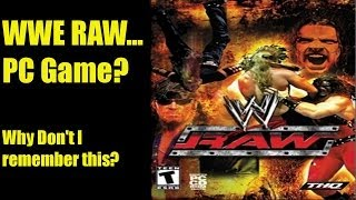 A Wee Look At: WWE RAW (2002) PC Game