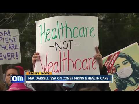Rep. Darrell Issa talks Comey firing, health care bill