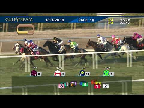 Gulfstream Park January 11, 2019 Race 10