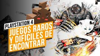 Juegos RAROS y DIFÍCILES de encontrar en PS4