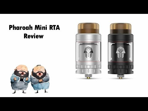 Pharaoh mini RTA review (build & wick ) | استعراض تانك فارو ميني