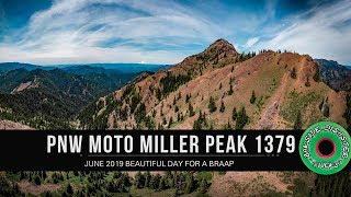 PNW Moto Miller Peak Trail #1379 Teanaway // NW Enduro High Alpine Singletrack