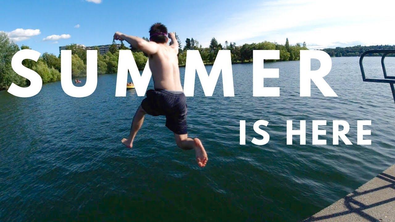 Pertama Kali Berenang di Danau! SERU abissss!!! #SummerVlog