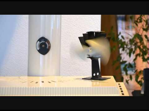 Ventilateur De Poele Ecofan Cashin Youtube