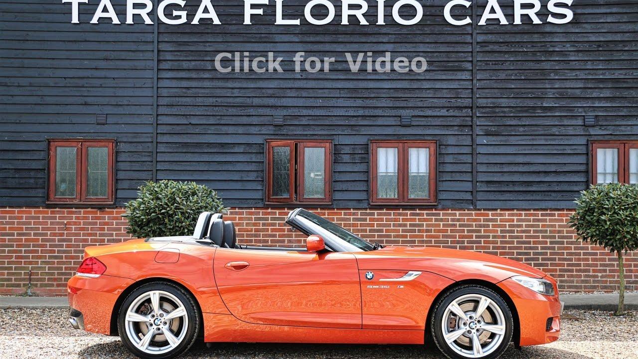 small resolution of bmw z4 3 0 turbo sdrive35i m sport roadster manual in valencia orange