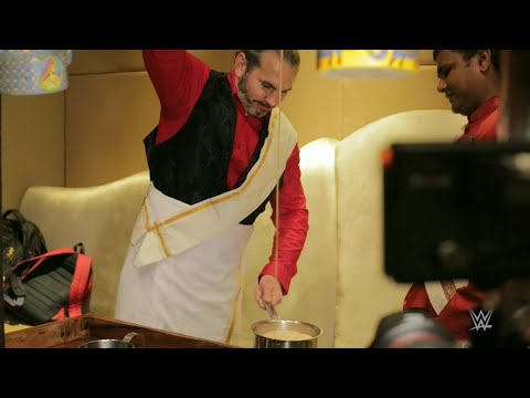 Matt Hardy makes a mean cup of Kaapi in Chennai, India