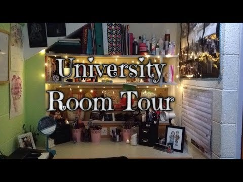 University Room Tour | Plymouth University, Robbins Halls of Residence | Layla Earl