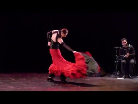 Vidéo LA VIE EST UNE GARE - YANA MAIZEL. Spectacle de théâtre-flamenco. Maison des Métallos 2016.