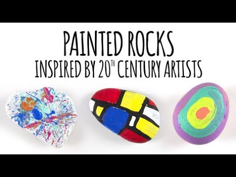 Modern Art Rock Painting