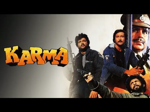 Download Karma 1986 Full Movie Dilip Kumar Anil Kapoor Jackie Shroff Movie