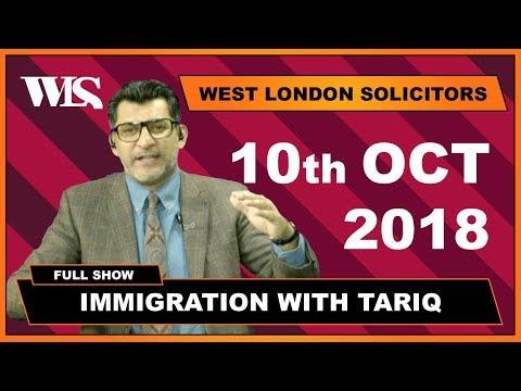 Immigration with Tariq - 10-10-2018