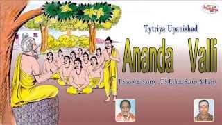 Tytriya Upanishad||Ananda Valli