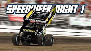 iRacing: Speedweek - Night 1 (410 Sprintcars @ Knoxville)