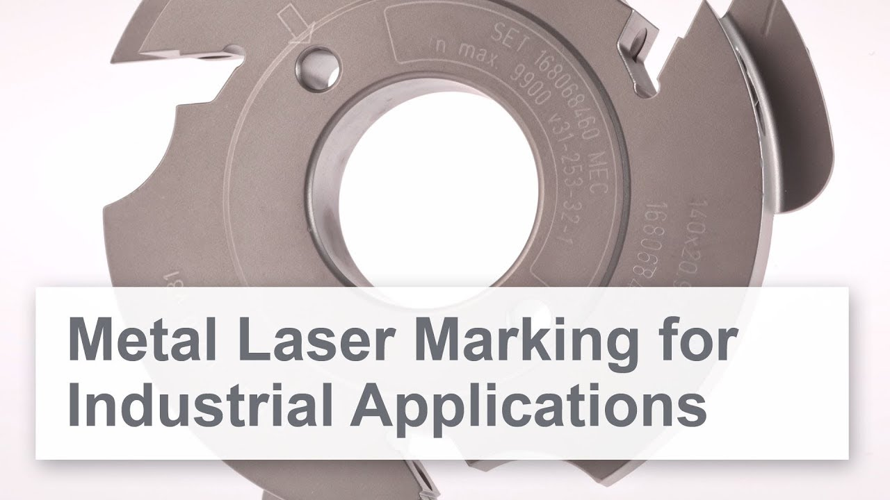 Laser marking and engraving metal | Trotec marking lasers