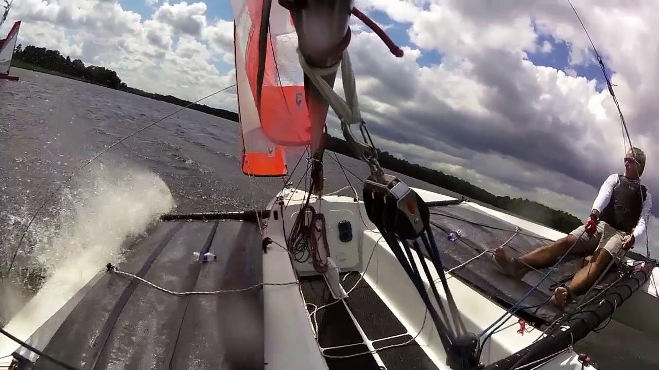 Astus 16 5 Trimaran Sailing Compilation