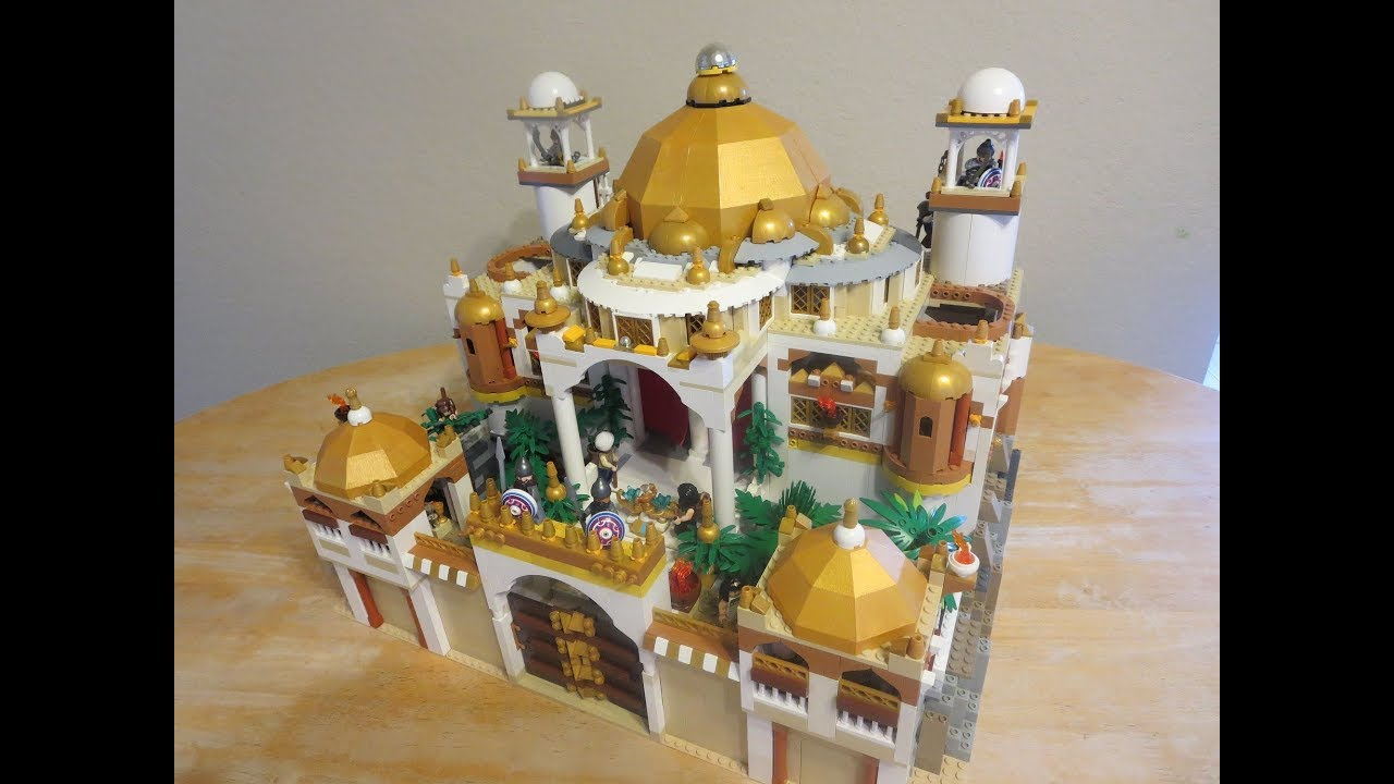 Lego Aladdin Agrabah Palace Moc Youtube