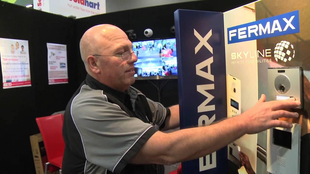 eversafe fermax video intercom systems youtube. Black Bedroom Furniture Sets. Home Design Ideas