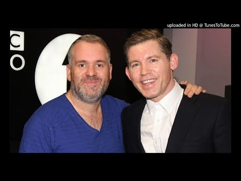 Lee Evans with Chris Moyles 29.09.2011