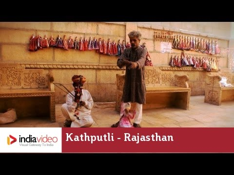 Kathputli: the Rajasthani string puppets