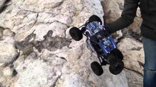 RR-10 bomber climbing rick at Reid state park