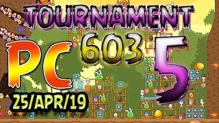 Angry Birds Friends Level 5 PC Tournament 603 Highscore POWER-UP walkthrough #AngryBirds