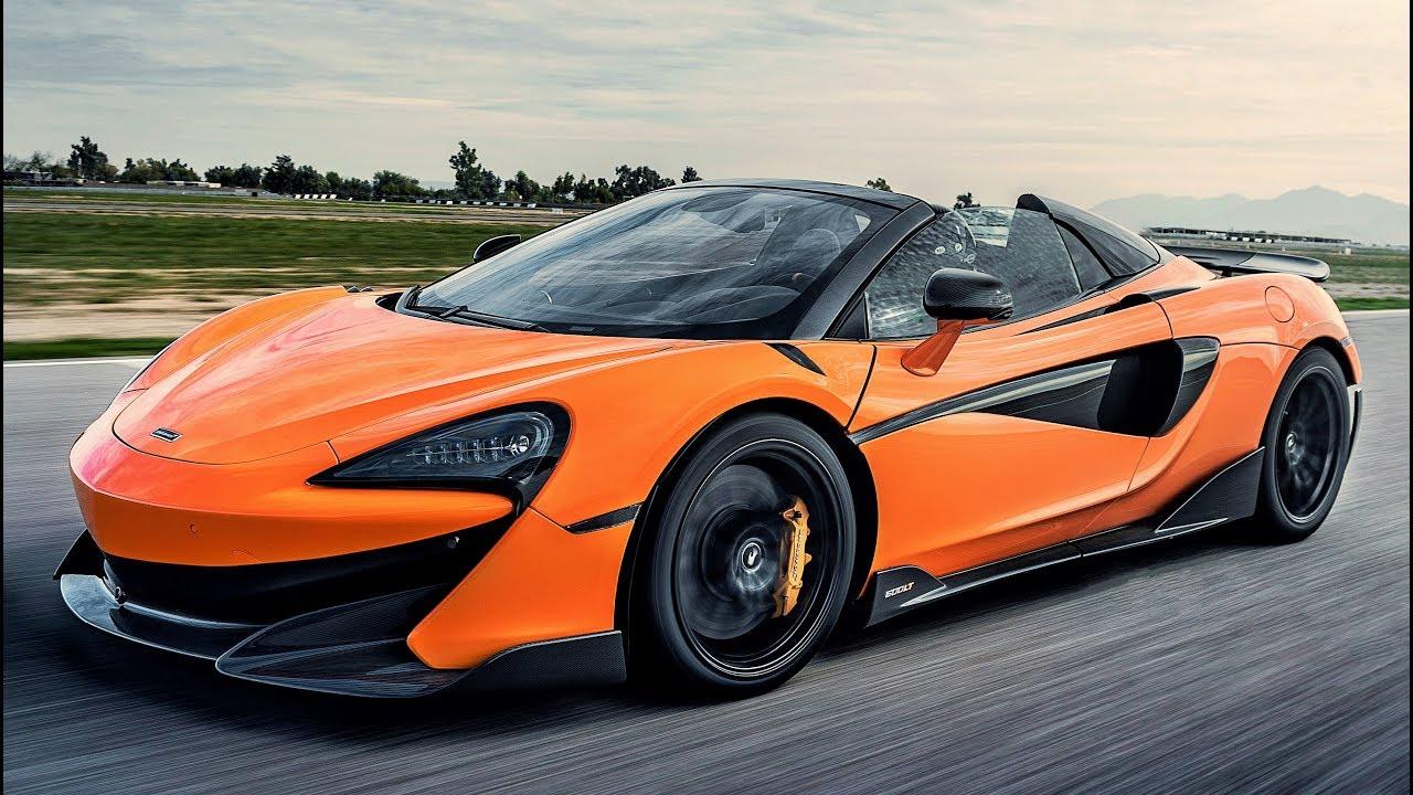 mclaren orange spider 600lt performance sportscar p1