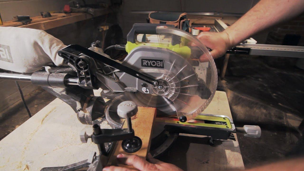 Ryobi 10 Sliding Compound Miter Saw Review Youtube