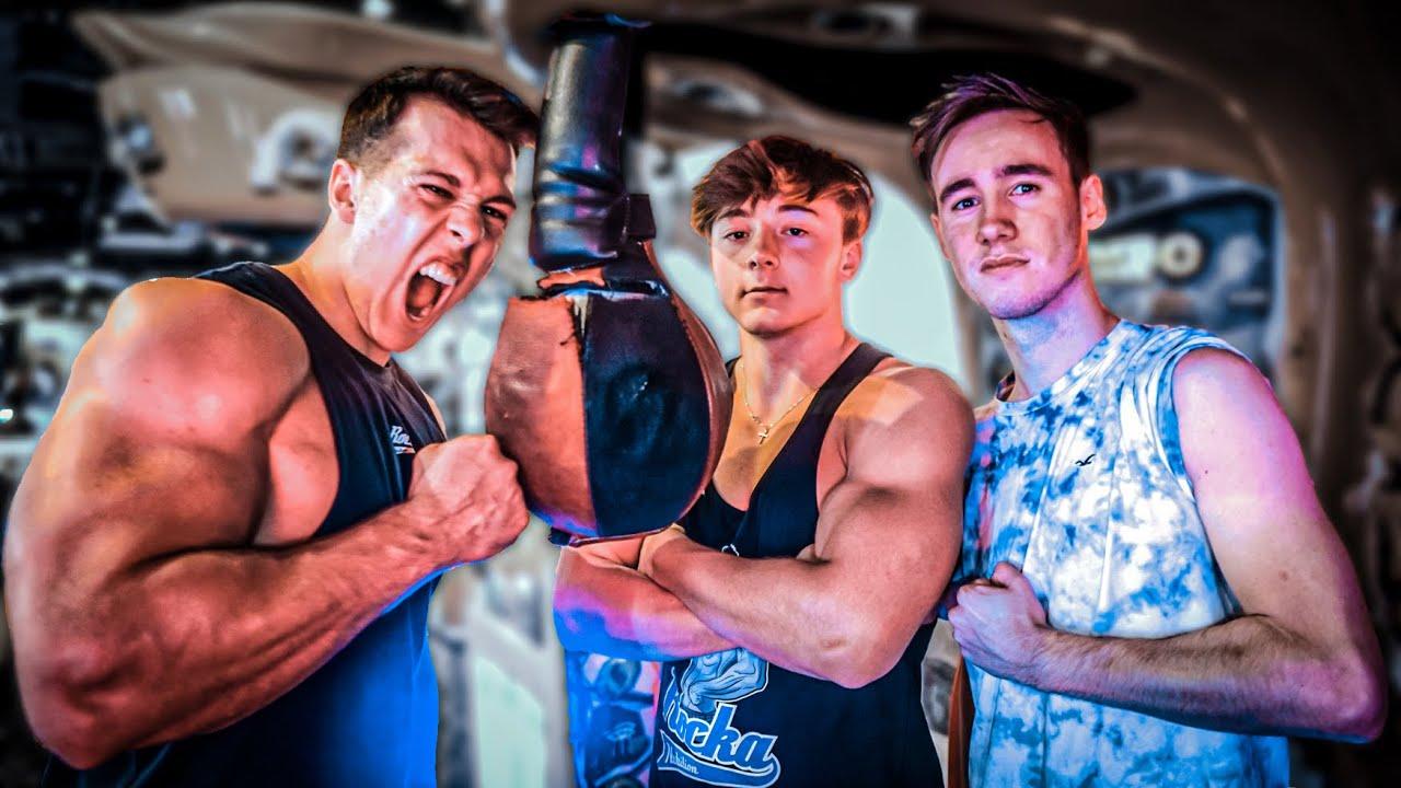 Lauch VS Bodybuilder am Boxautomat!🥊 Unglaubliches Ergebnis😱