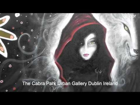 The Cabra Park Urban Wall Painting Gallery Graffiti Street Art Dublin Ireland