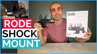 RODE SMR Shock Mount Review - Microphone Shock Mount with Pop Filter