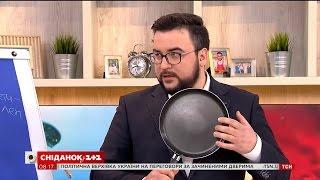 Тефлонова, керамічна чи чавунна – обираємо сковорідку разом із Глібом Репічем