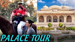 Saif Ali Khan And Kareena Kapoor  Pataudi Palace House Tour | Taimur Ali Khan Birthday Party Place