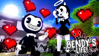 Download Minecraft BENDY'S LIFE (EP.4) - BENDY ASKS ALICE ANGEL TO MARRY HIM - DID SHE SAY YES?? Mp3 and Videos