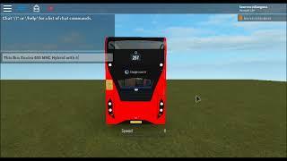 Roblox Enviro 400 MMC ibrido Stagecoach Londra 12426-12432 Showcase