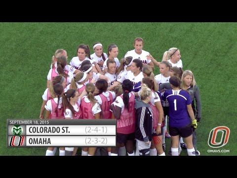 Womens Soccer Highlights: Omaha vs. Colorado St.