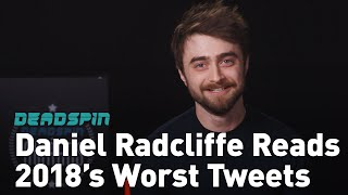 Daniel Radcliffe Presents The Deadspin Award For Worst Tweet Of 2018