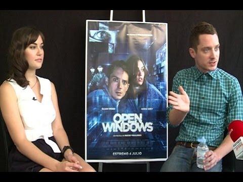 Elijah Wood and Sasha Grey- 'Open Windows' Interview