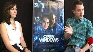Elijah Wood and Sasha Grey - Open Windows (2018) - Interview