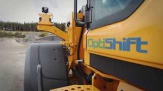ボルボホイールローダーL110H、L120Hのプロモーションビデオ