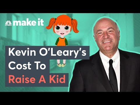 Kevin O'Leary: This Is How Much It Costs To Raise A Child