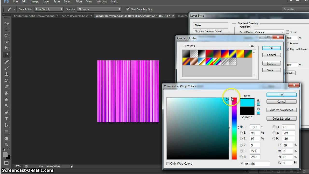 Create IMVU Hair Textures in Photoshop CS6 Part 2/4 - YouTube